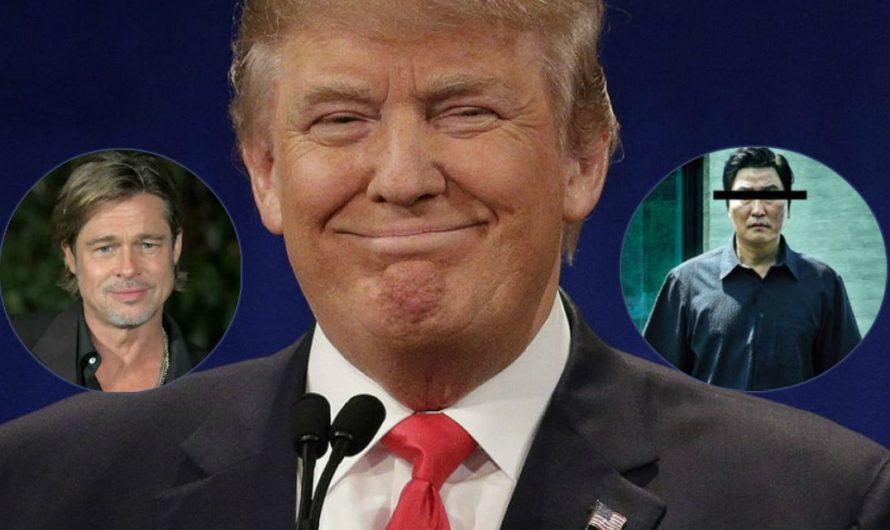 Mirá quién viene a criticar: Donald Trump destrozó a Brad Pitt y a Parasite por los Oscar