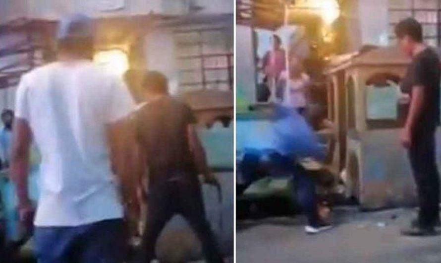 Indignante: dos borrachos mataron a puñaladas a un perro Pitbull [VIDEO]