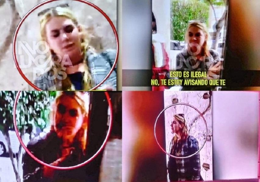 """FOTOS y VIDEO: Esmeralda Mitre fue ESCRACHADA por un vecino de su edificio: """"Esto es un descontrol"""""""