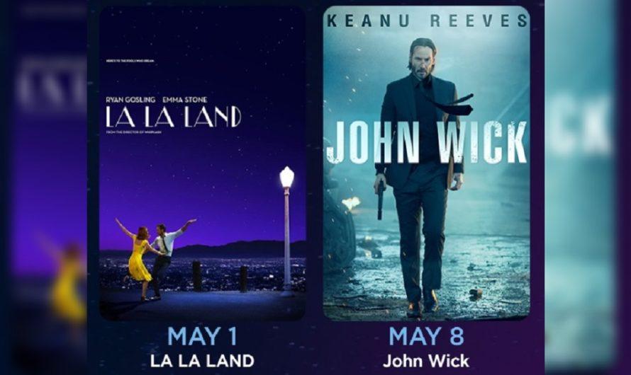 [MIRÁLO AQUÍ] Disfutrá el estreno gratuito de LA LA LAND y JOHN WICK