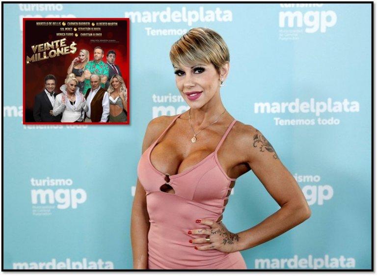 Otro escándalo salpica a la comedia de Carmen Barbieri: Mónica Farro se desmayó en escena