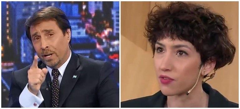 Sofía Gala, cansada de Feinmann, iniciaría acciones legales: «Estoy harta de que alguien que no me conoce me bardee»