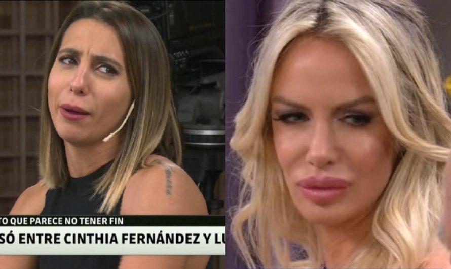 """La cruda reacción de Cinthia Fernández cuando le hablaron de Luli Salazar: """"No la revivamos que está muerta"""""""