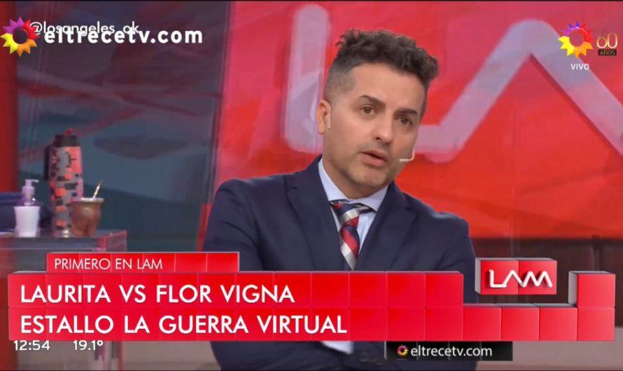 Laurita Fernández reinició una vieja pelea con Flor Vigna por Nico Cabré [VIDEOS]
