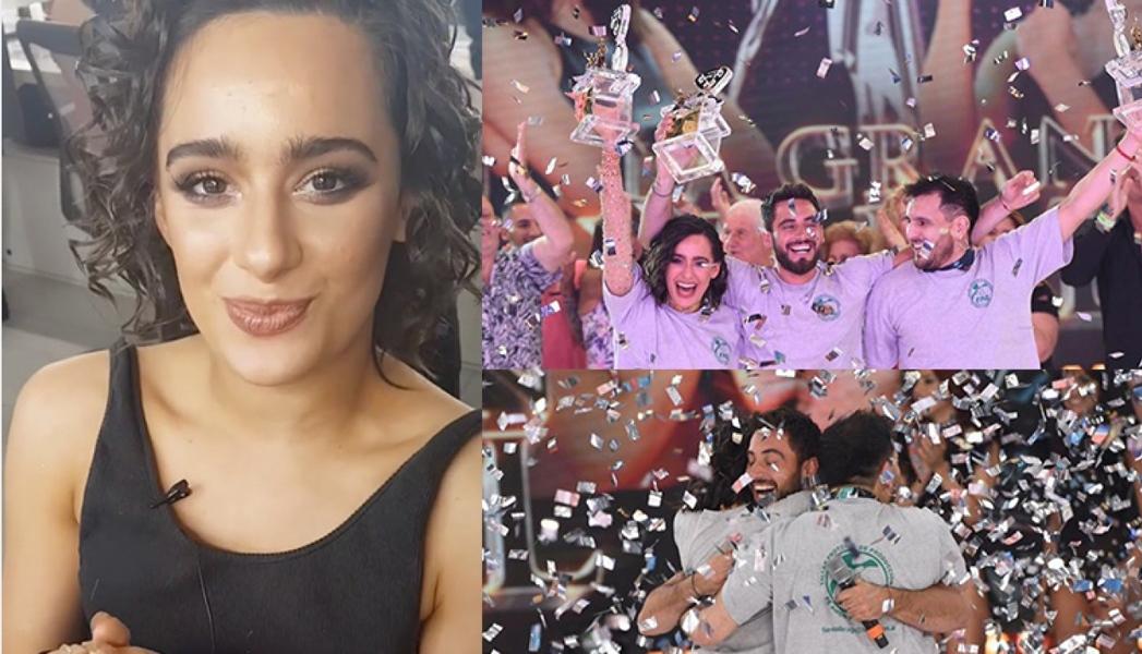 La cábala íntima de Flor Jazmín Peña que le dio resultado en la final del Bailando