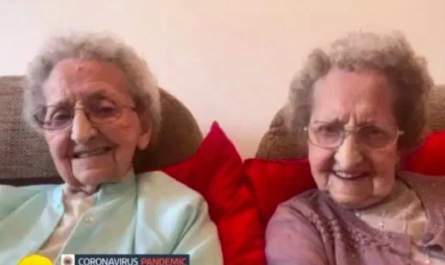 [DE NO CREER] Gemelas de 96 años cuentan su secreto para la longevidad y dejaron a todos boquiabiertos