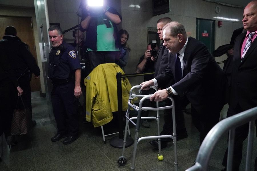 Fuerte arranque del juicio a Harvey Weinstein