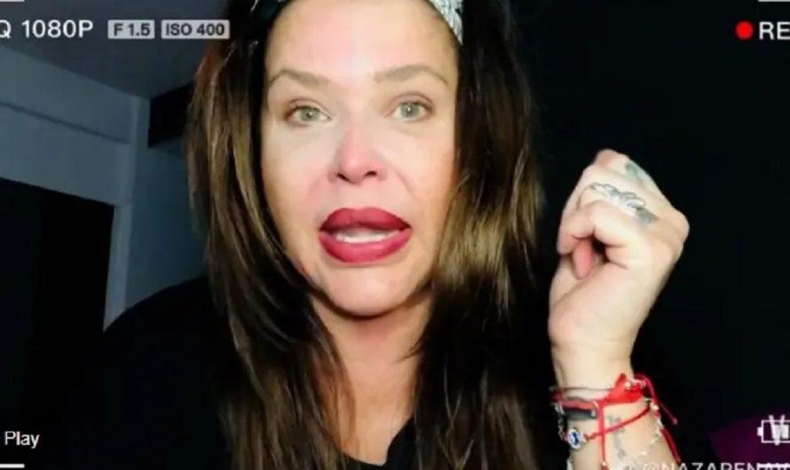 Nazarena Vélez compartió un video en su canal de YouTube y contó sobre la vez que «se quedó en la calle y sin comida»