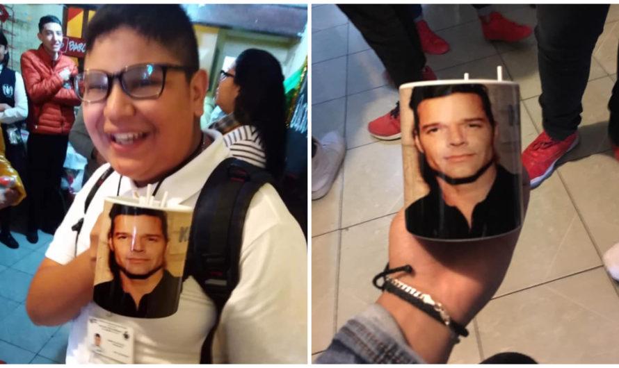 En un intercambio un joven pide una taza de Rick y Morty y recibe una de Ricky Martin