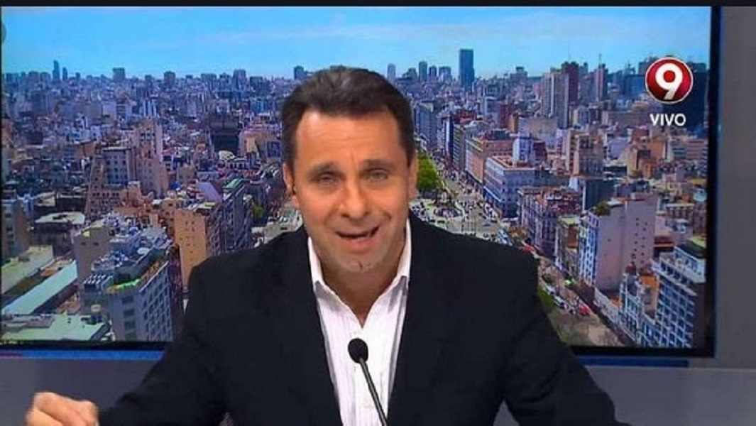Canal Nueve corrió al periodista Jorge Pizarro, denunciado por maltrato