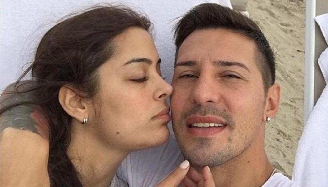 """""""Recarga de amor"""": Larissa Riquelme visitó a Fabbro en la cárcel y subió una foto a Instagram"""
