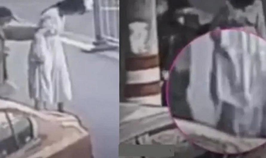 Una mujer caminaba por la calle y dio a luz: el bebé cayó al suelo y tuvo leves lesiones