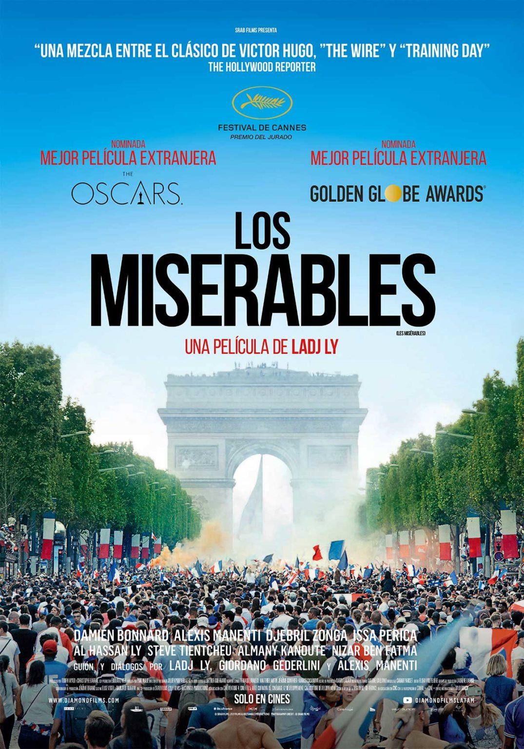 Les Misérables: La película francesa candidata al Oscar llega a los cines argentinos