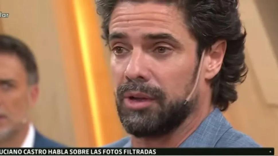 Luciano Castro se quebró al hablar de la filtración de sus fotos íntimas [VIDEOS]