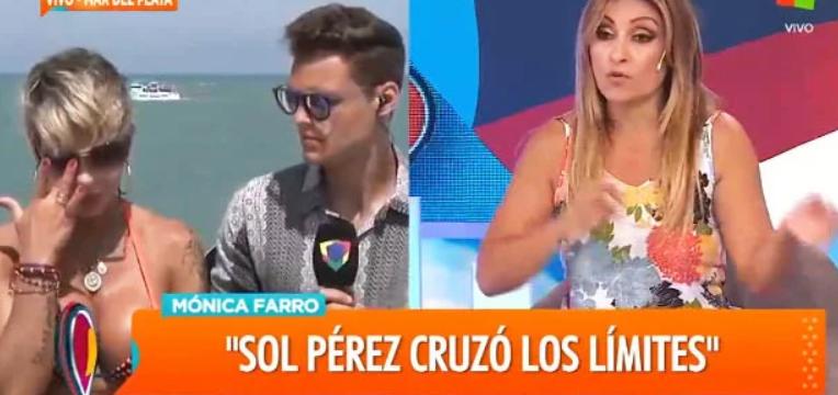 Mónica Farro en llanto contó los insultos que le lanzó Sol Pérez