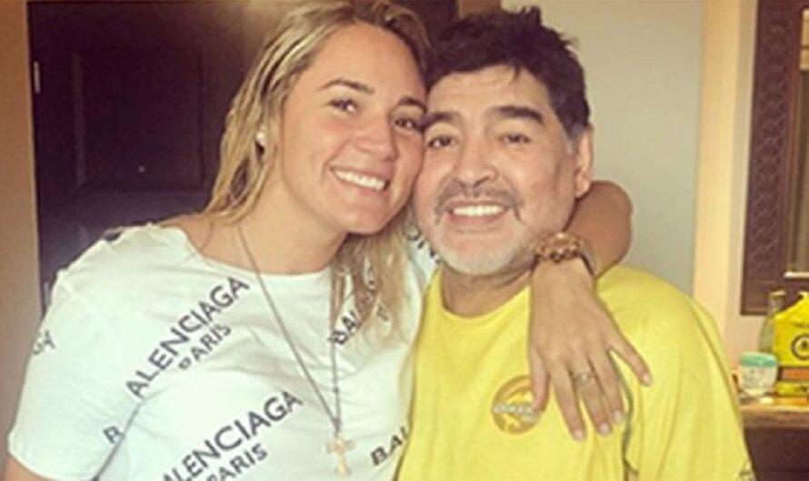 """""""Me llevaron los marcianos"""", la excusa de Diego Maradona luego de desaparecer por dos días de la casa de Rocío Oliva"""