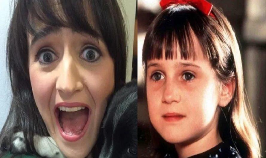 La curiosa historia de la actriz de «Matilda» que cambió su vida y huyó de la fama