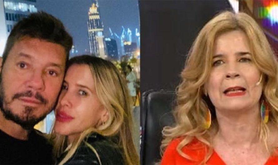 Mercedes Ninci contó una picante versión sobre la separación de Tinelli y Guillermina Valdés