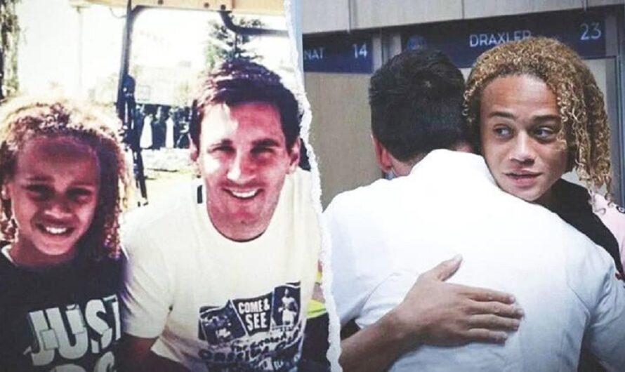 En 2014 jugaba en las inferiores del Barça y se sacó una foto con Messi: ahora son compañeros