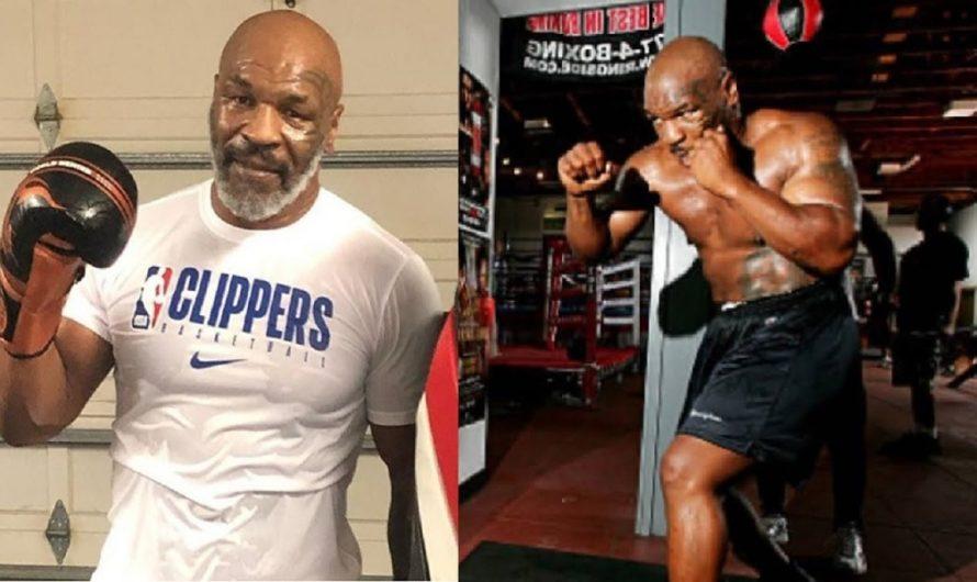 [VIEJOS SON LOS TRAPOS] Así boxea Tyson a los 53 años y asegura volver al ring
