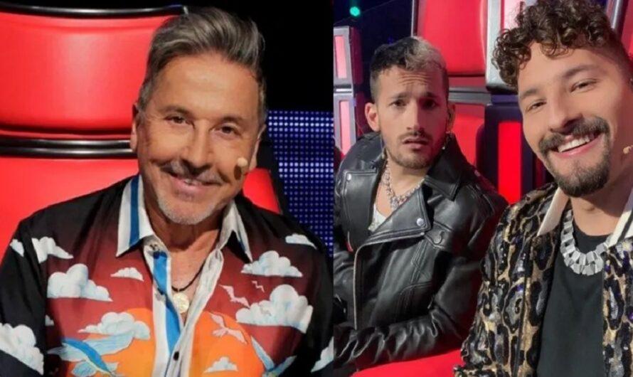 Postergan las grabaciones de «La Voz Argentina» porque los Montaner no volvieron de Miami