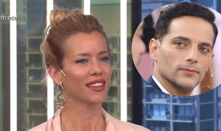 Nicole Neumann contó un descuido hot en una escena con Joaquín Furriel