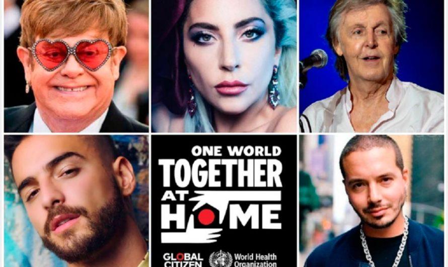 """El live Aid de la cuarentena: cómo será el concierto global por el Coronavirus """"One World: Together At Home"""""""