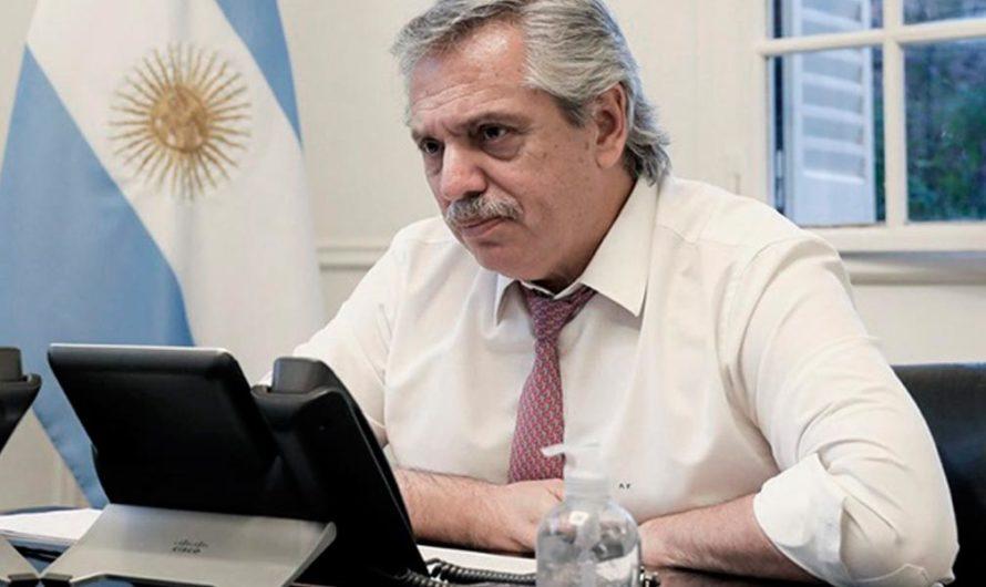 Alberto Fernández anunció que sigue la cuarentena: «Vamos a ver qué actividades podemos flexibilizar»