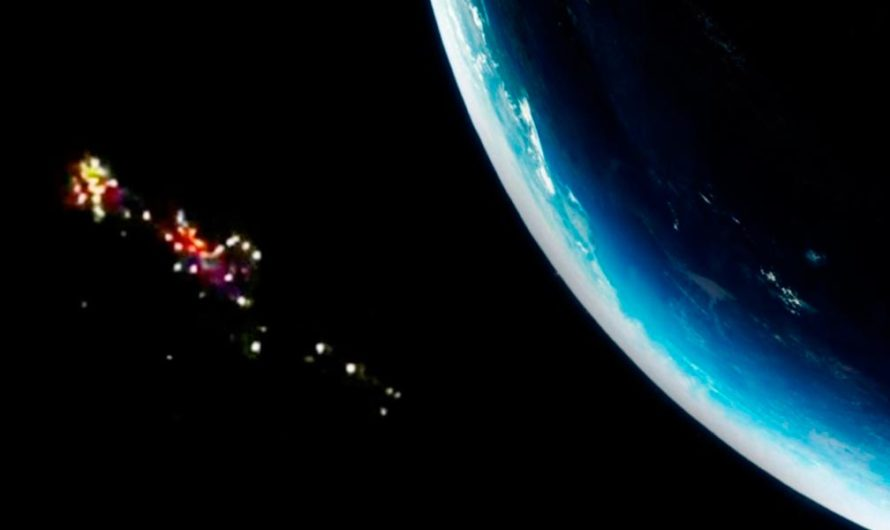 La Estación Espacial Internacional grabó el paso de decenas de ovnis