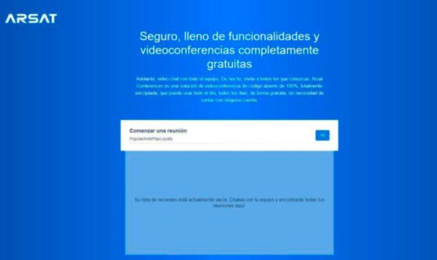 Conferences, la plataforma del ARSAT para realizar videollamadas gratuitas