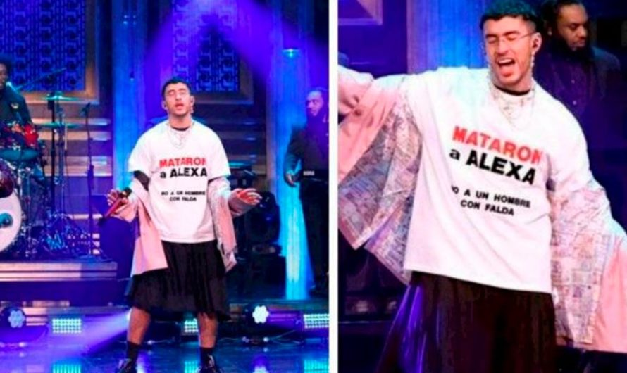 La protesta de Bad Bunny en el show de Jimmy Fallon