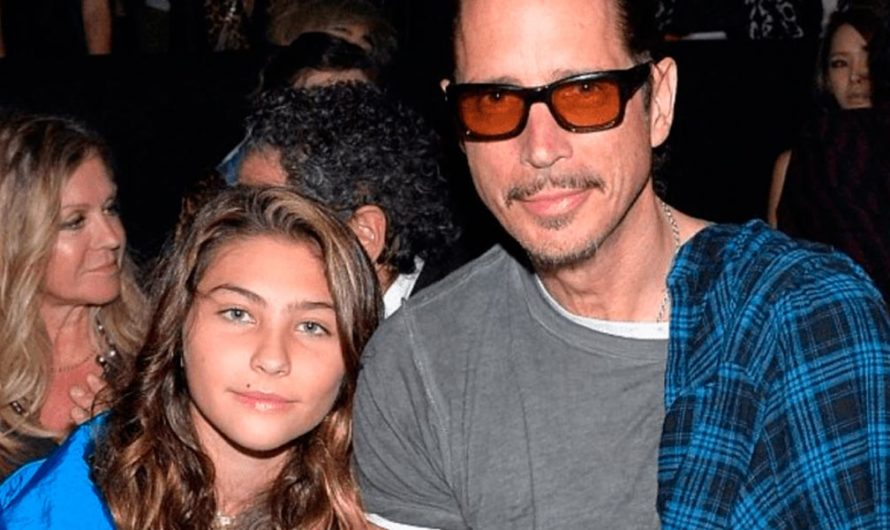Se hace viral el homenaje de la hija de Chris Cornell a su padre