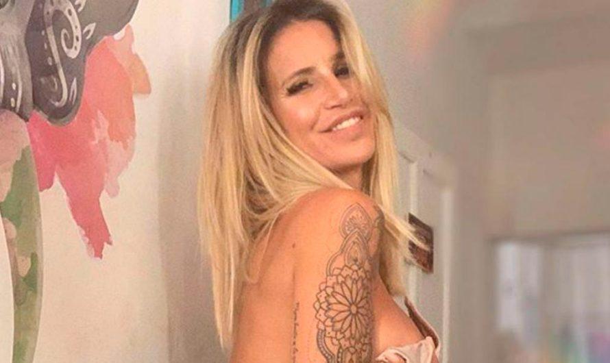 El osado look de Flor Peña para festejar sus 46