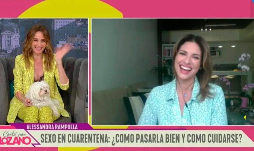 Sexo en cuarentena: Los consejos de Alessandra Rampolla