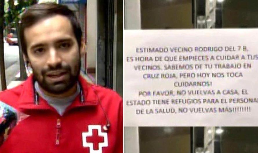 Un vecino le pidió al Director de Emergencias de la Cruz Roja que no vuelva nunca más a su casa