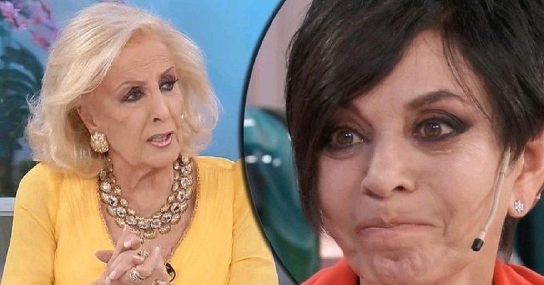 VIDEO: Mónica Gutiérrez se quebró cuando Mirtha Legrand le preguntó si renunció porque se había peleado con alguien