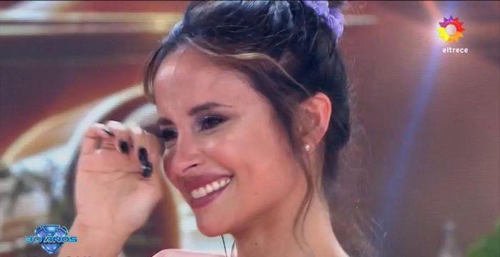 Lourdes Sánchez volvió a la pista del Súper Bailando y se emocionó con las palabras de Pampita