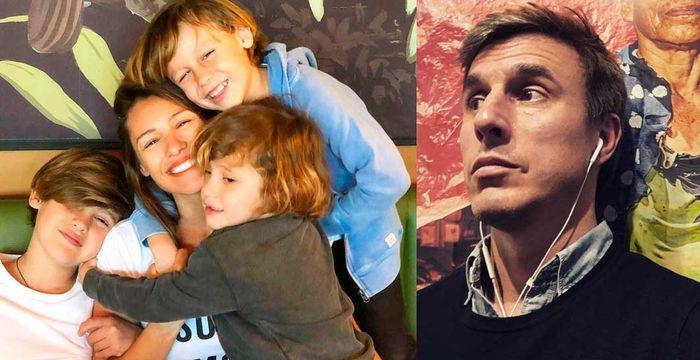 La primera salida «de hombres» de García Moritán y los tres hijos de Pampita, ¿cómo reaccionará Vicuña?
