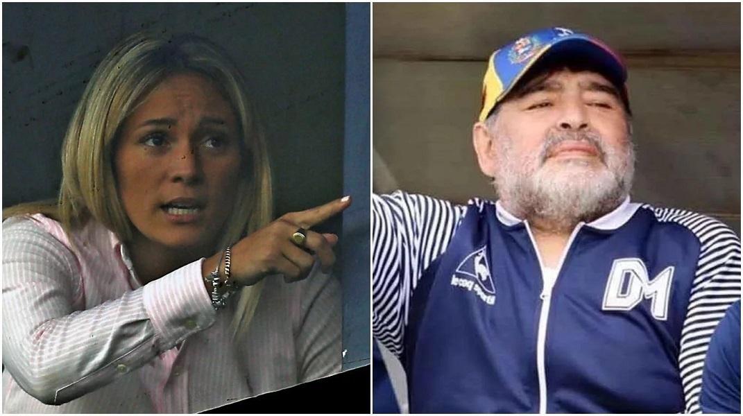 ¿Palabra autorizada? Esto fue lo que dijo Rocío Oliva sobre la continuidad de Maradona como DT de Gimnasia