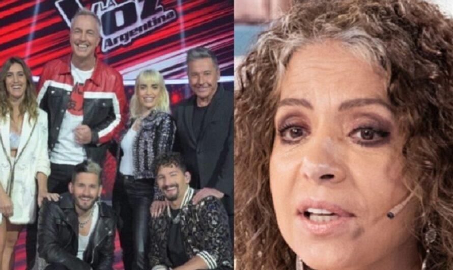 ¡Durísima! Patricia Sosa criticó al jurado de La Voz Argentina por una actitud reprochable