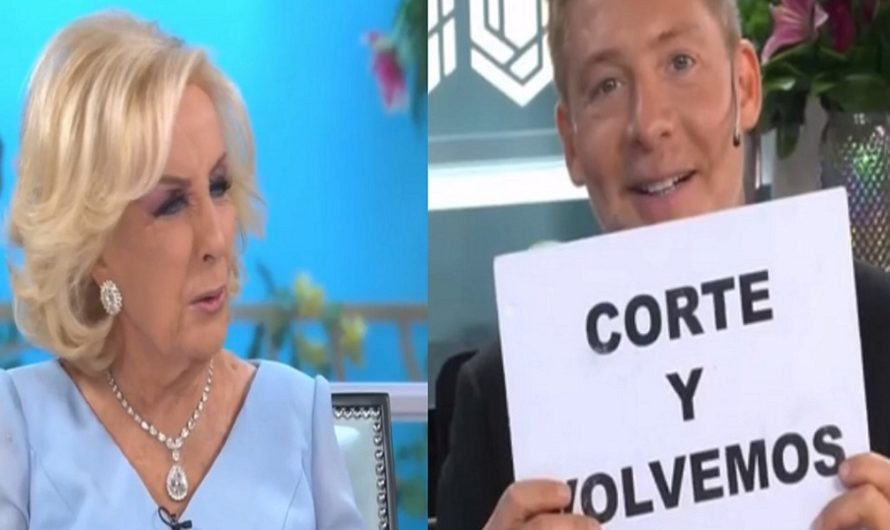 "El tenso cruce EN VIVO entre Mirtha Legrand y Adrián Suar: ""No corto nada"" [VIDEO]"