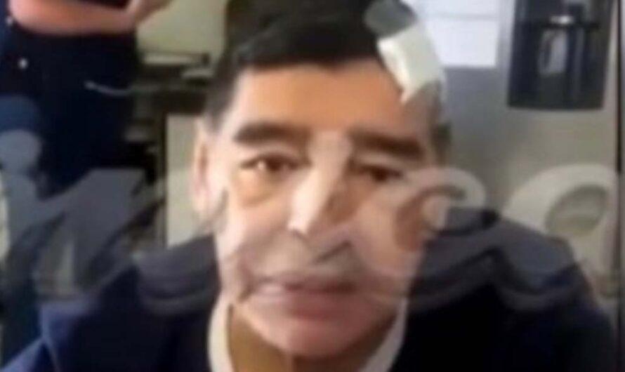 «Estoy abollado»: Apareció un video de Maradona en sus últimos días