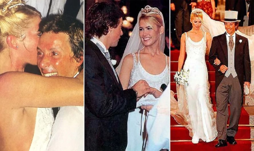 Fiesta, políticos y empresarios: los secretos jamás antes revelados del casamiento de Valeria Mazza