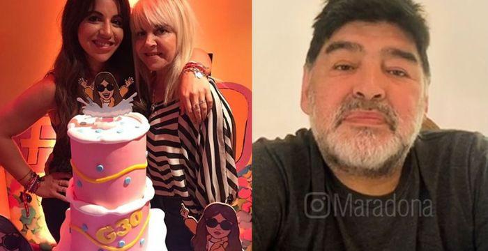 El vuelto no fue caramelos: Villafañe estuvo durísima contra Maradona